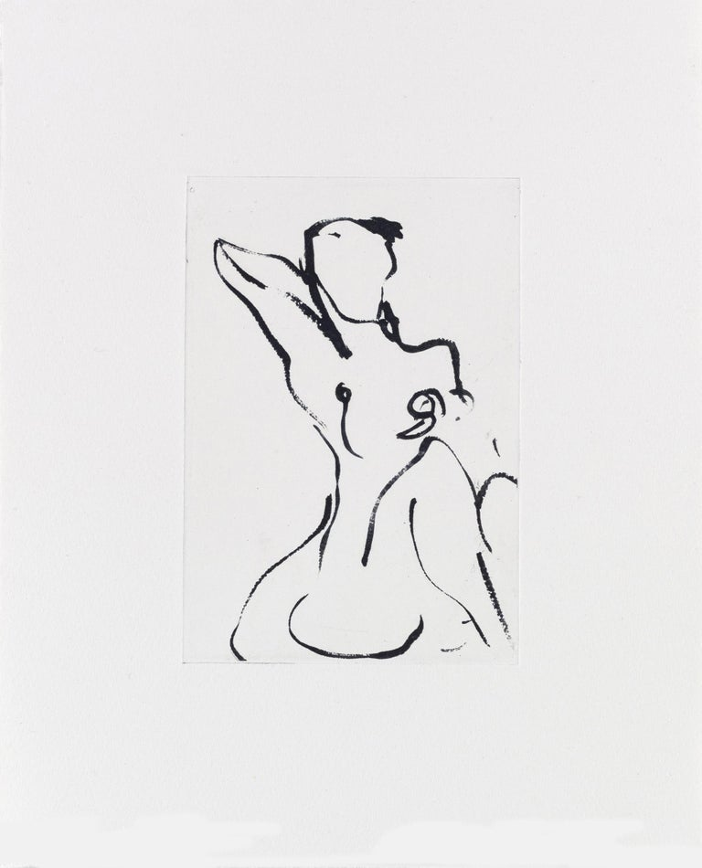 Artist: Tracey Emin Title: Something Good Year: 2017 Medium: Polymer gravure etching on Somerset White 300gsm paper Edition: 50; signed, titled, dated and numbered pencil Sheet: 11 3/8 x 9 1/4 inches (28.8 x 23.4 cm) Condition: Mint Certificate of