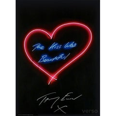 The Kiss Was Beautiful by Tracey Emin Signed Edition of 500