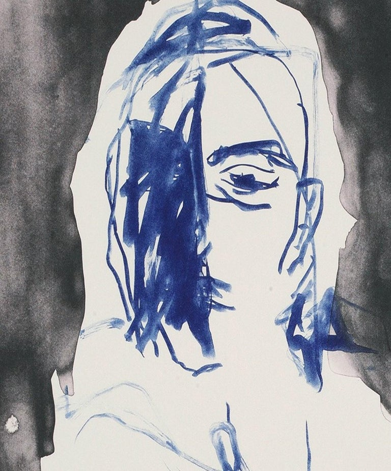 These Feelings Were True II - Emin, Contemporary, YBAs, Lithograph, Portrait - Print by Tracey Emin