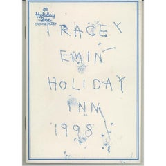Tracey Emin, Holiday Inn, Lithograph on Paper, 1998