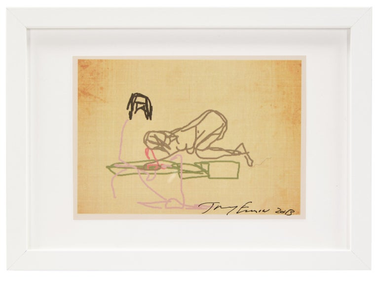 Tracey Emin, Ipad Drawing, from 'Sex' Series, 2013 - Contemporary Print by Tracey Emin