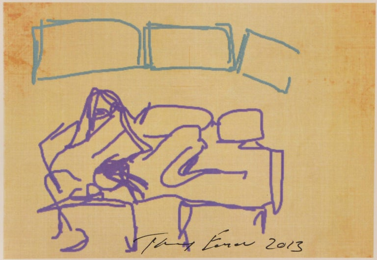 Tracey Emin, Ipad Drawing, from 'Sex' Series, 2013 For Sale 1