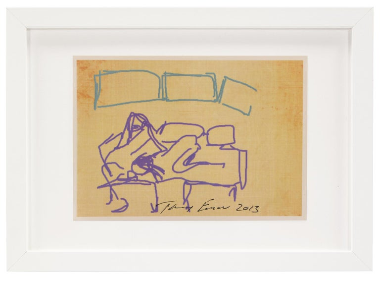 Tracey Emin, Ipad Drawing, from 'Sex' Series, 2013 - Print by Tracey Emin
