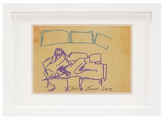 Tracey Emin, Ipad Drawing, from 'Sex' Series, 2013