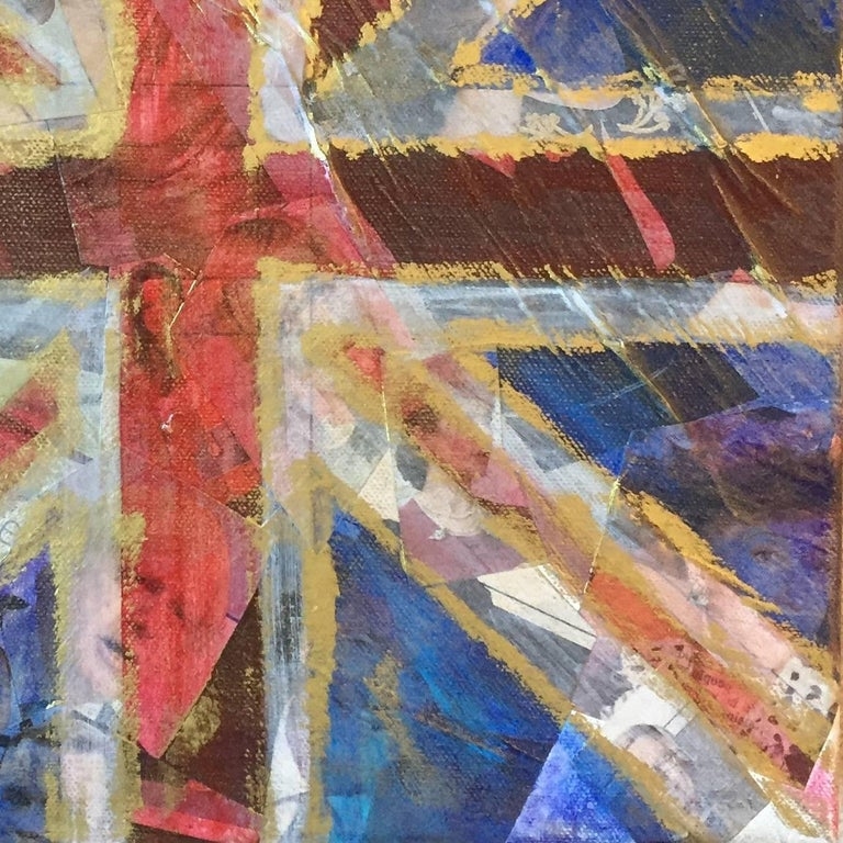 Celebrity Culture - Yesterday's News, Original, Acrylic on Canvas, Collage,  For Sale 1