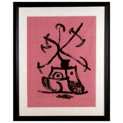 """Tractor"" by Joan Miro"