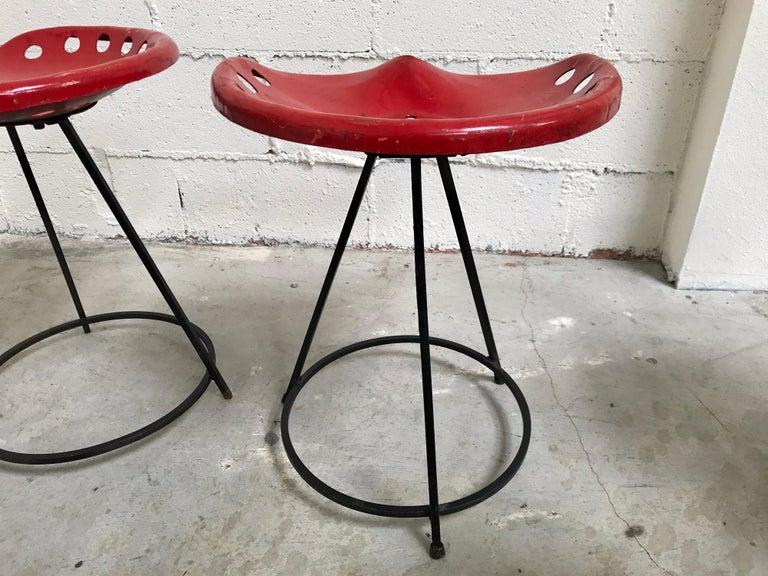 Tractor Seat Stools Benjamin Baldwin, 1960's For Sale 4