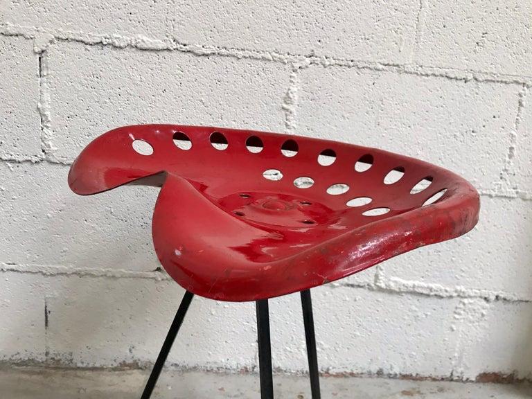 Tractor Seat Stools Benjamin Baldwin, 1960's For Sale 9