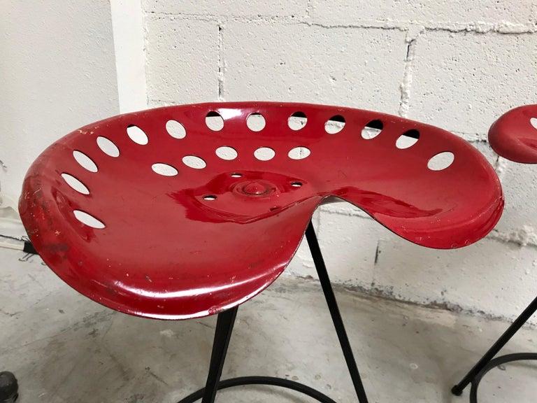 Tractor Seat Stools Benjamin Baldwin, 1960's For Sale 10