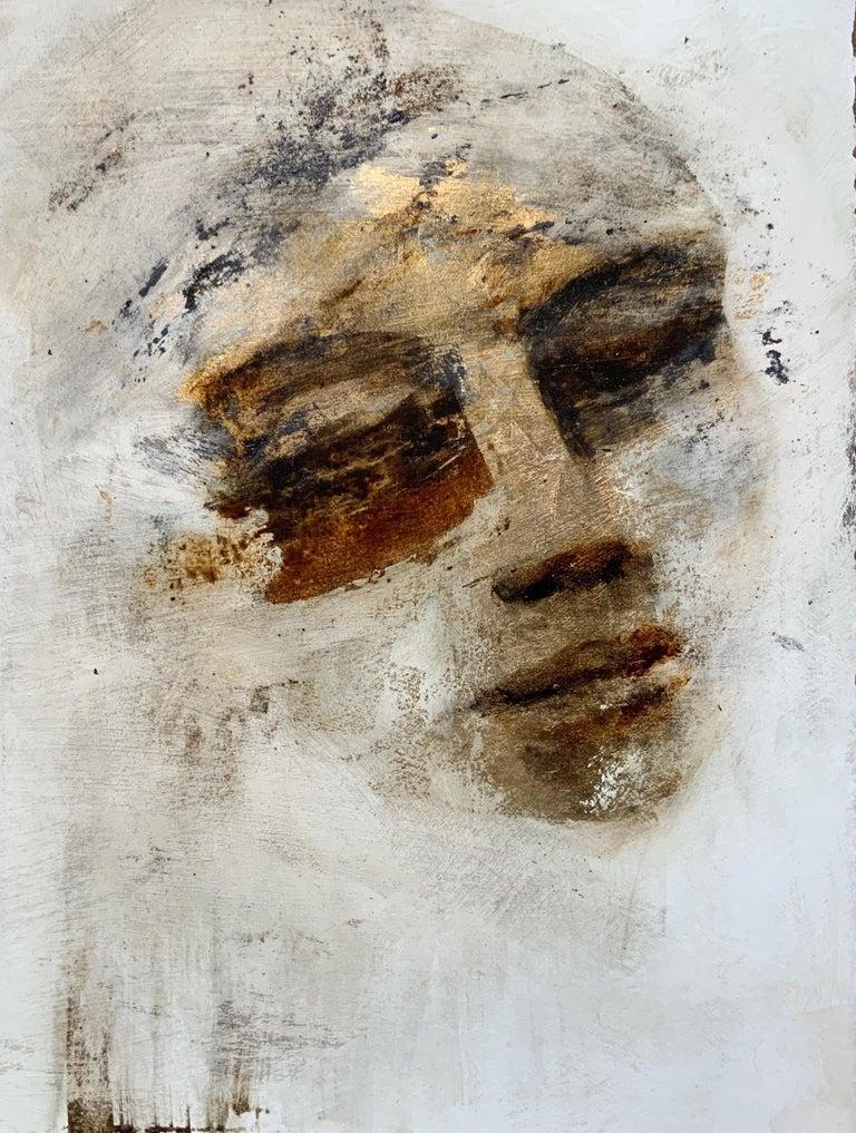 Portrait Mixed Media , Tracy Sharp 2020 - Painting by Tracy Sharp
