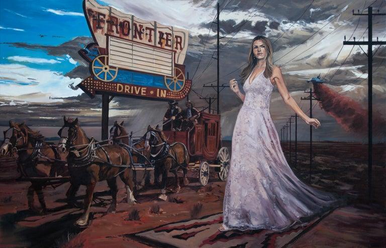 Tracy Stuckey Landscape Painting - American Progress 2