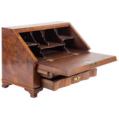 Trade Furniture Forming a Miniature Secretary Writing Table, 19th Century