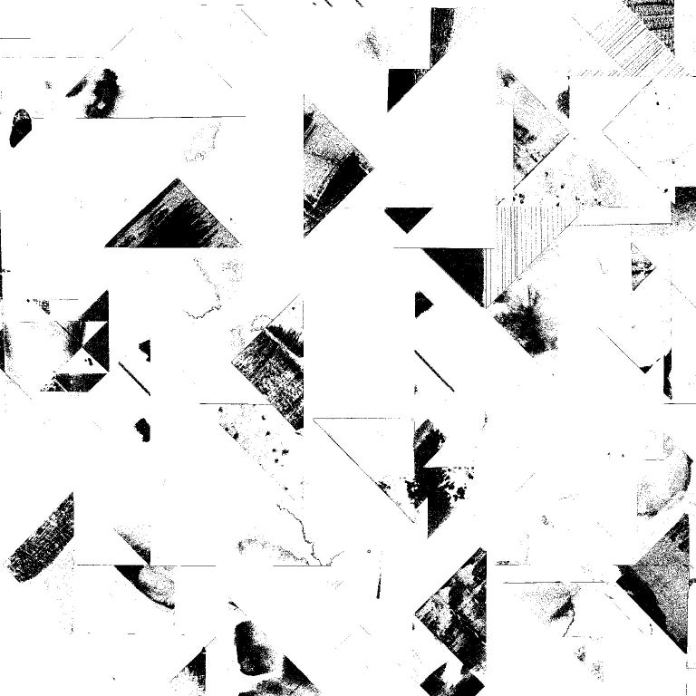 Trade Routes Geometric Print Wallpaper In Blackwhite Colorway On Smooth Paper