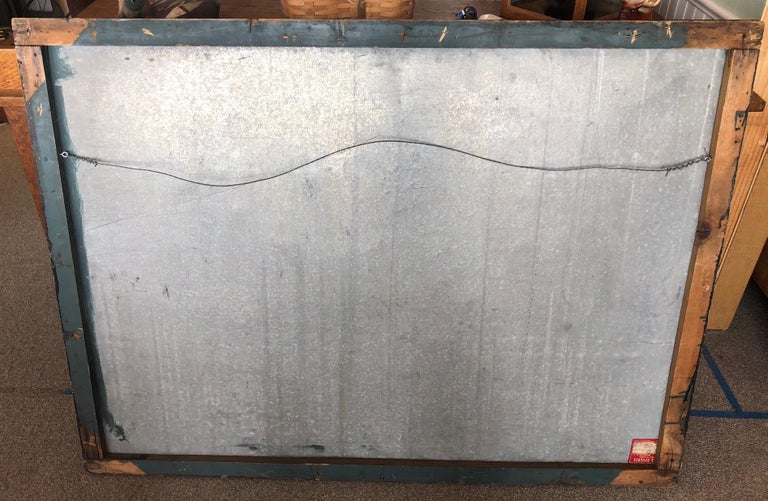 Trade Sign of Tin for Dress Shoppe For Sale 4
