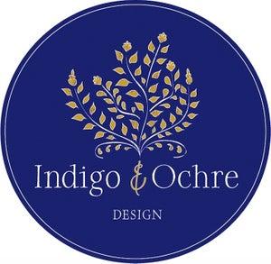 Indigo and Ochre Design
