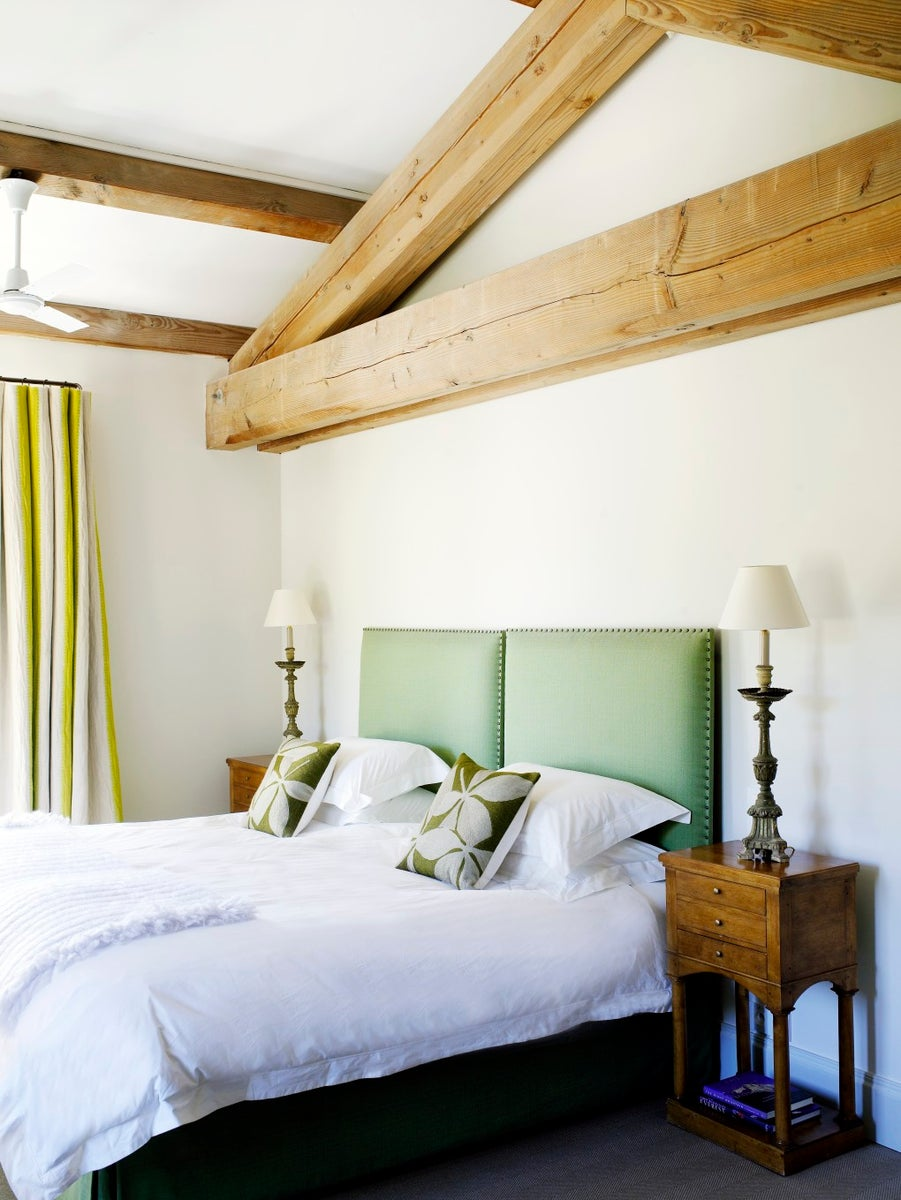 French Bedroom in FR by Samantha Todhunter Design Ltd.