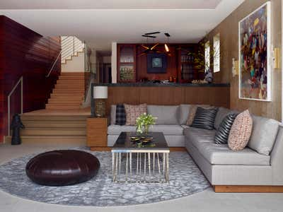 Contemporary Bar and Game Room. Manhattan Beach Modern by Annette English + Associates.