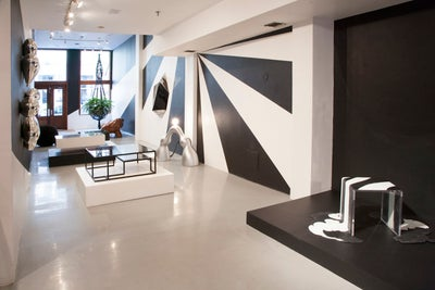 After r co gallery by kelly behun studio for Kelly behun studio