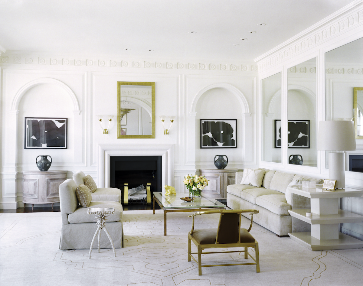 Living Room By Fisher Weisman On 1stdibs