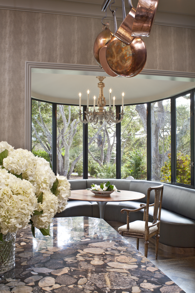 Carmel residence by fisher weisman for Artful decoration interiors by fisher weisman