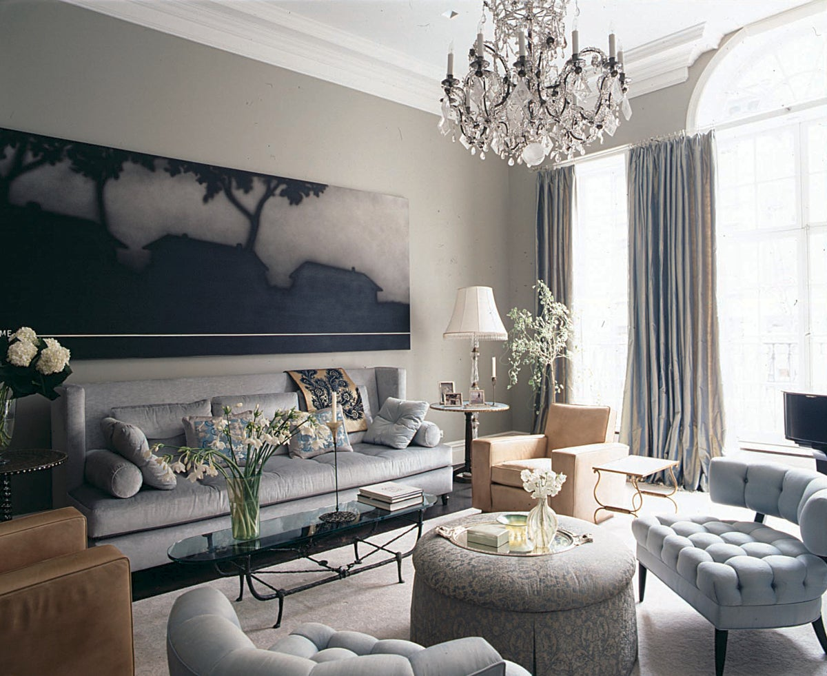 Eclectic living room in new york ny by fox nahem associates for Living room york