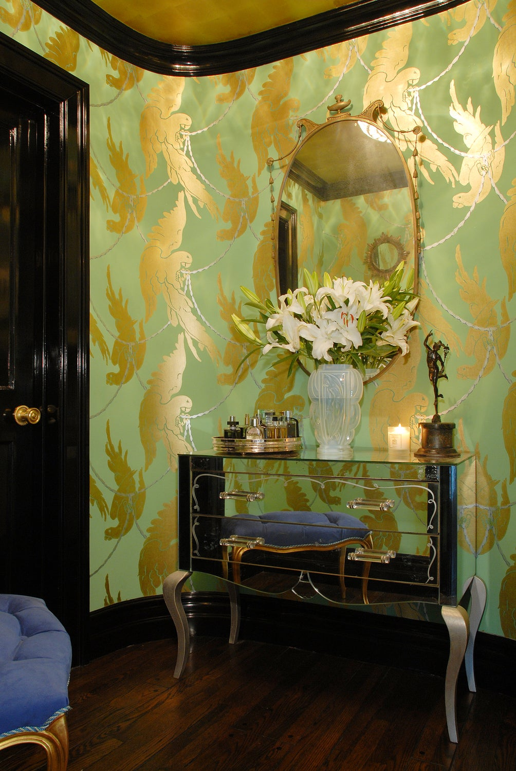 Traditional Victorian Colonial Living Room By Timothy Corrigan With Images: Bathroom By Timothy Corrigan, Inc. On 1stdibs