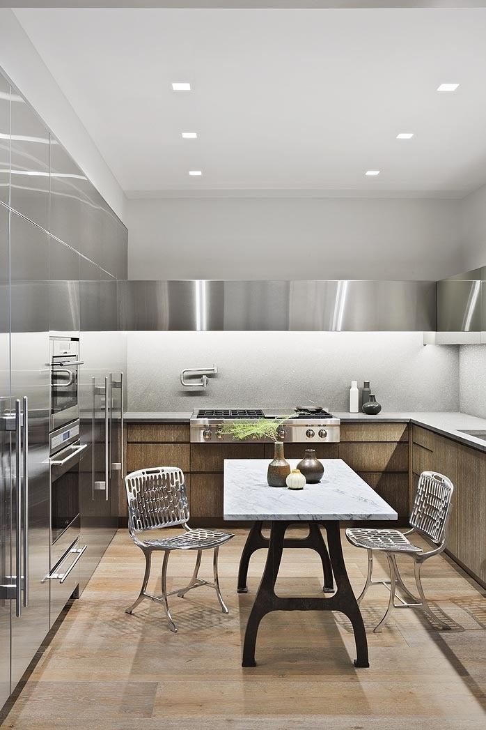 Modern kitchen in new york ny by shamir shah design for Modern kitchen design new york