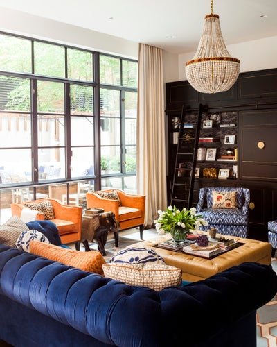 Sara Gilbane Interiors - Tribeca Townhouse