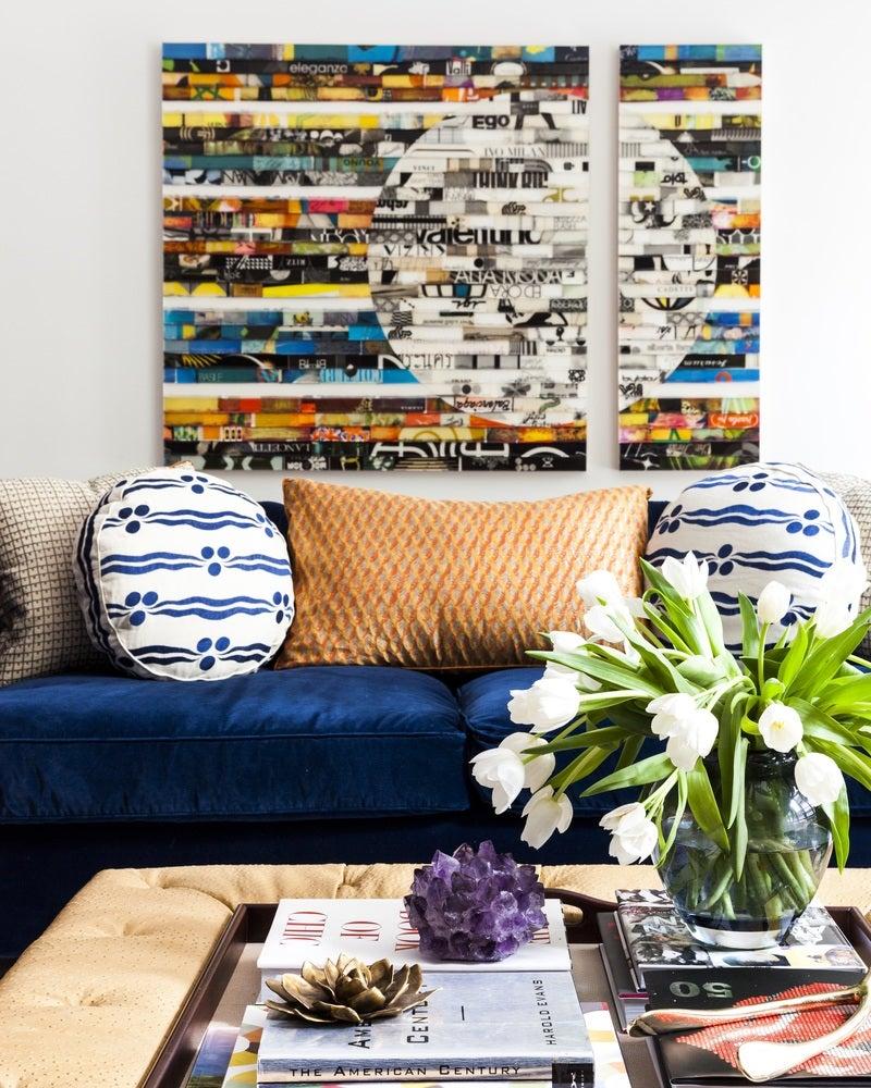 living room in new york, nysara gilbane interiors