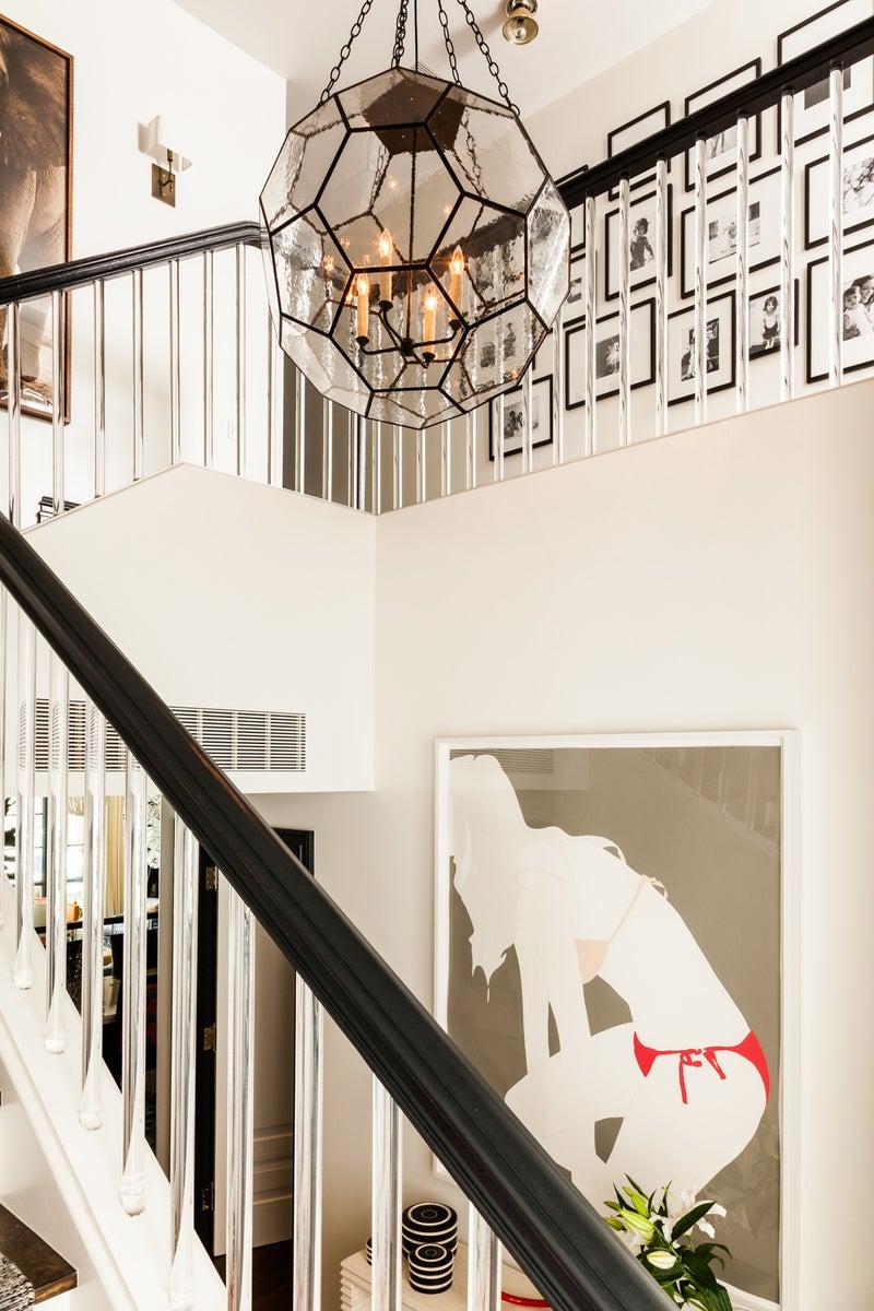 entry and hall in new york, nysara gilbane interiors