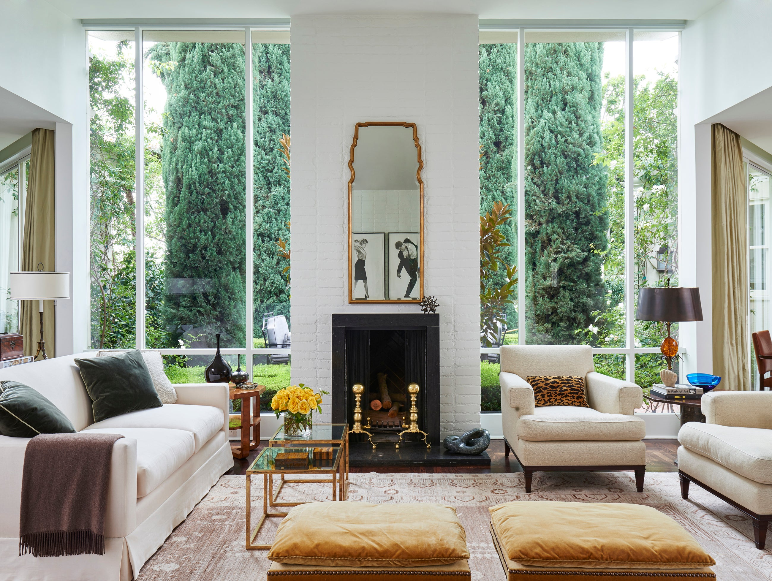 Living Room in Los Angeles, CA by Madeline Stuart