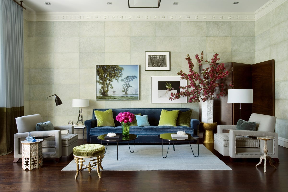 Modern Living Room In Boston MA By Frank Roop Design Interiors