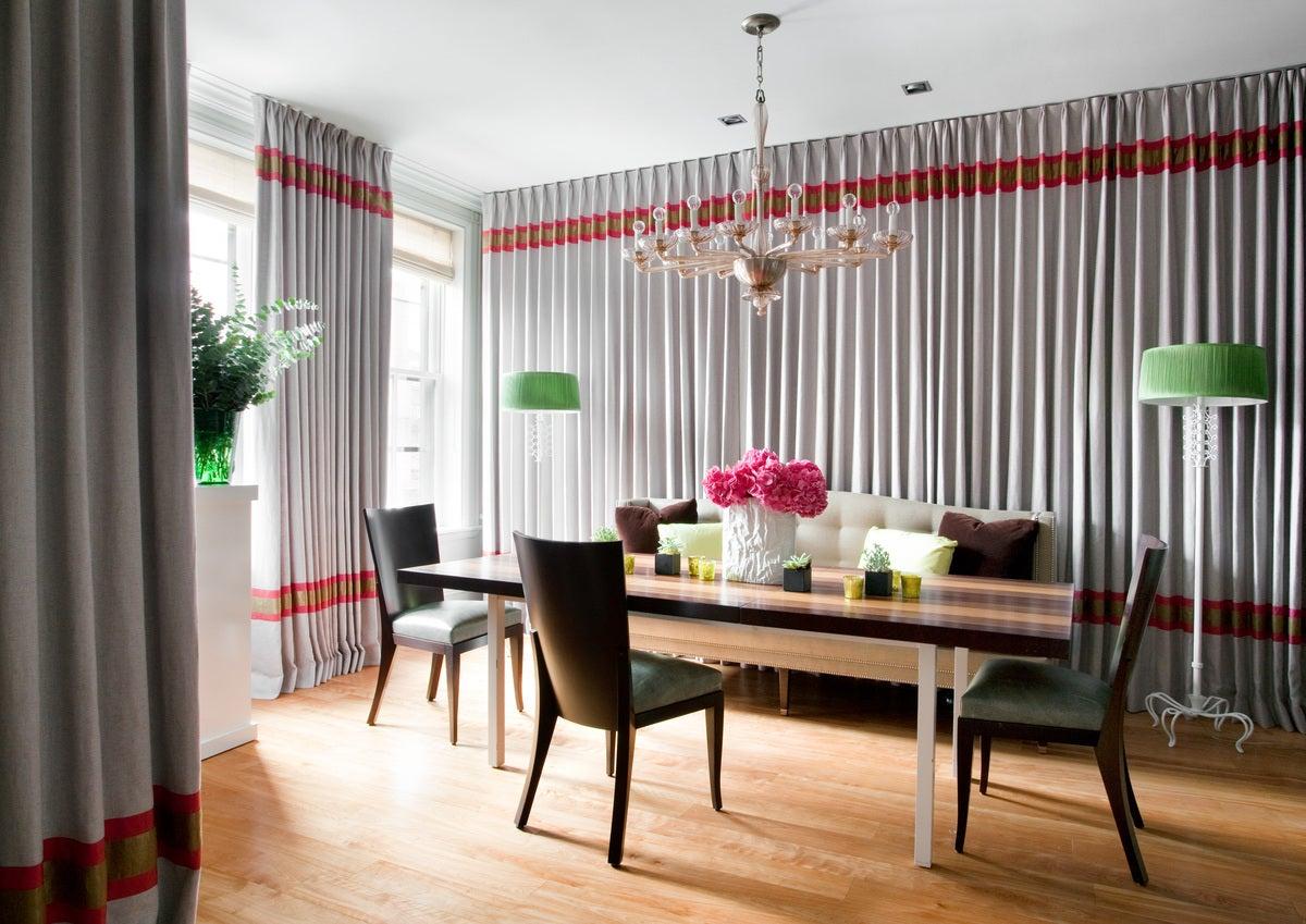 Frank Roop dining room in boston, mafrank roop design interiors