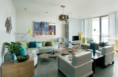 Frank Roop contemporary living room in weston, mafrank roop design interiors