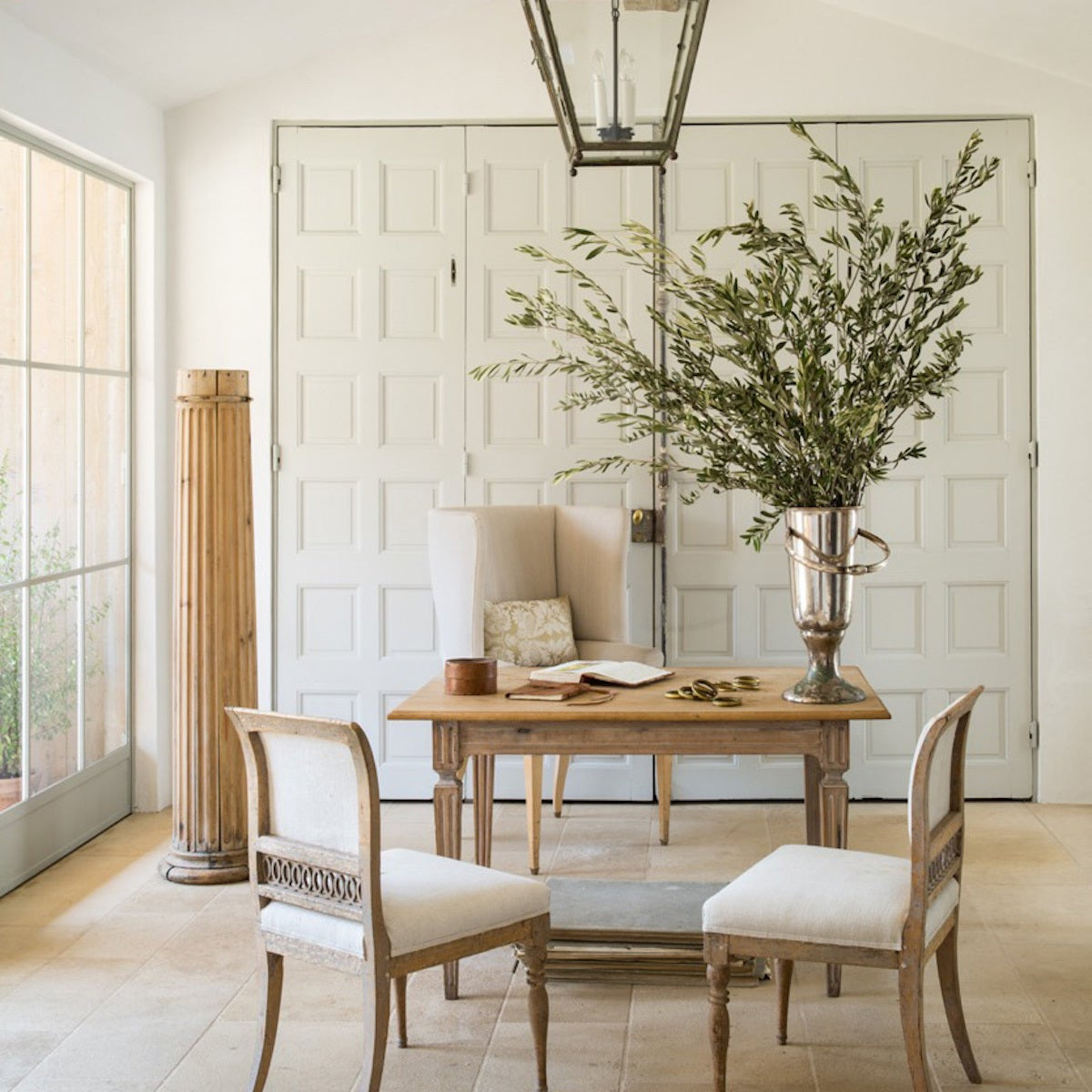 Farmhouse Office and Study in US by Giannetti Home