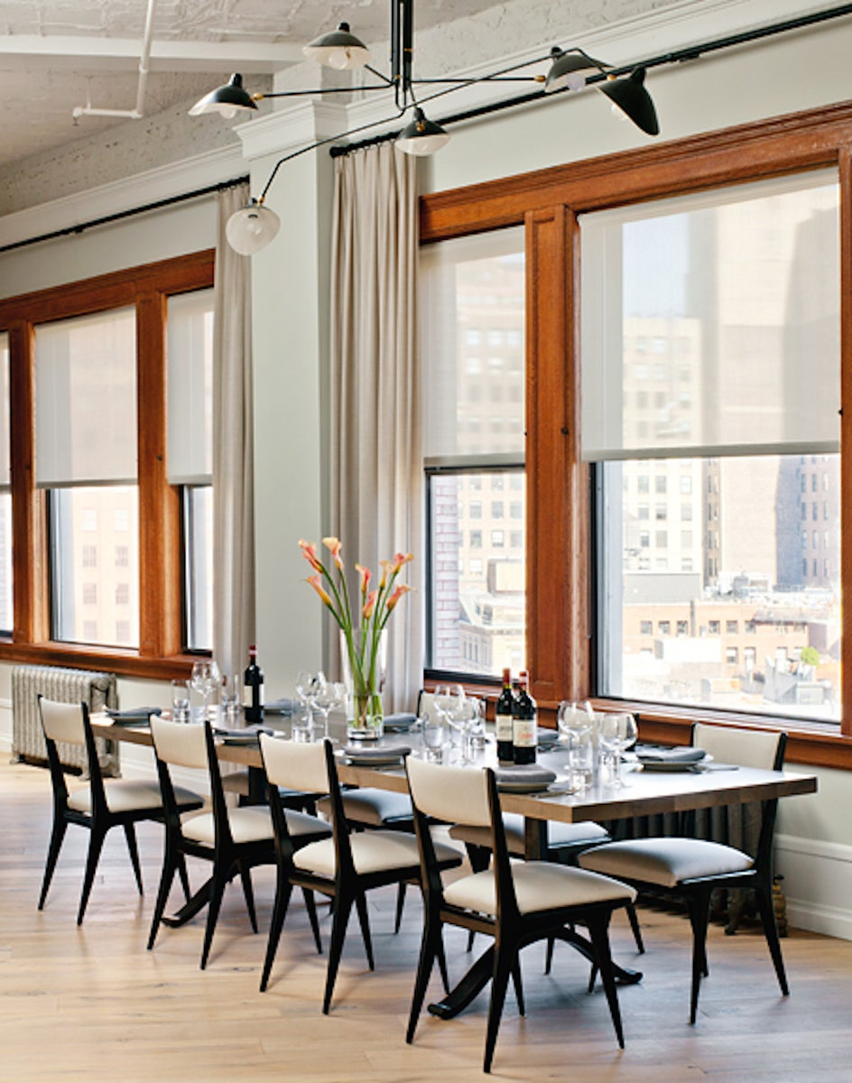 Century Modern Dining Room in New York, NY by Damon Liss Design