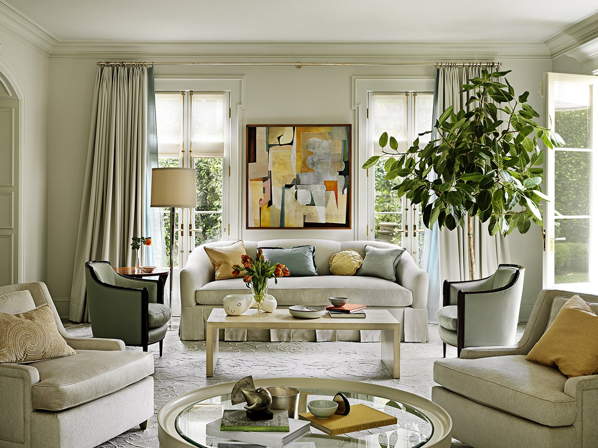 Modern Living Room In Beverly Hills Ca By Barbara Barry Incorporated