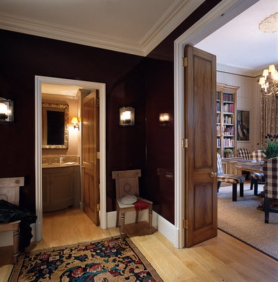 Contemporary furniture design - Apartment In London By Roger Jones By Sibyl Colefax Amp John Fowler