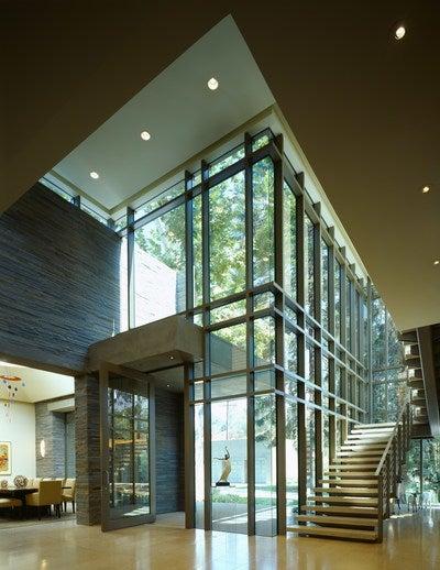 Foyer Architecture Login : Berberian residence by landry design group inc