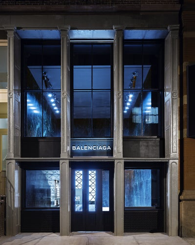 Balenciaga women 39 s new york flagship store by ryan korban for Balenciaga store in soho