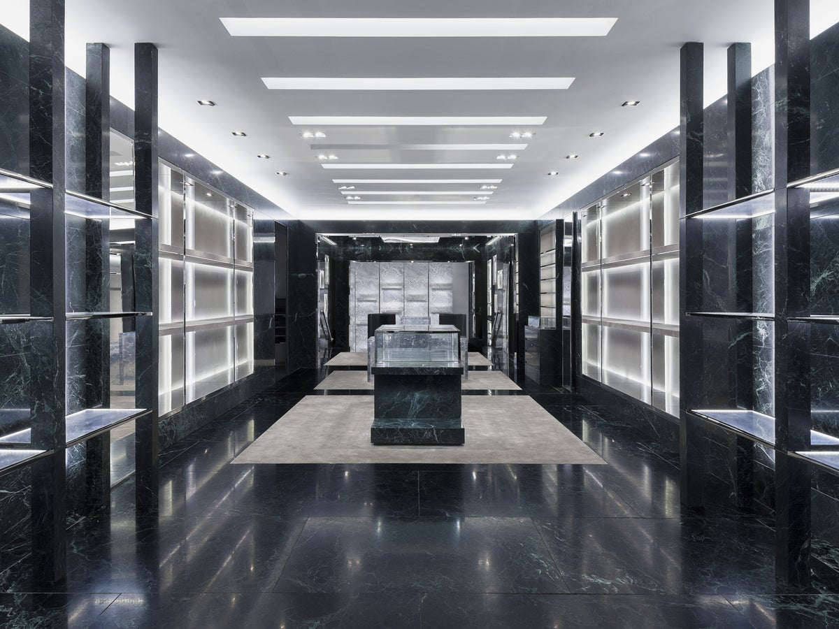 Balenciaga men 39 s new york flagship store by ryan korban for Balenciaga store in soho