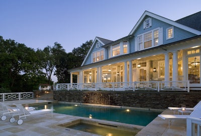 Robert A.M. Stern Architects - House at Blue Water Hill