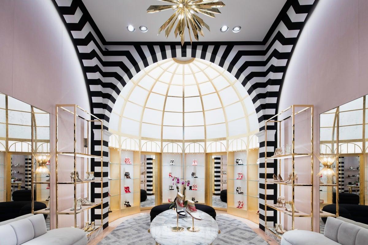 Aquazurra us flagship store by ryan korban for Retail interior design firms nyc