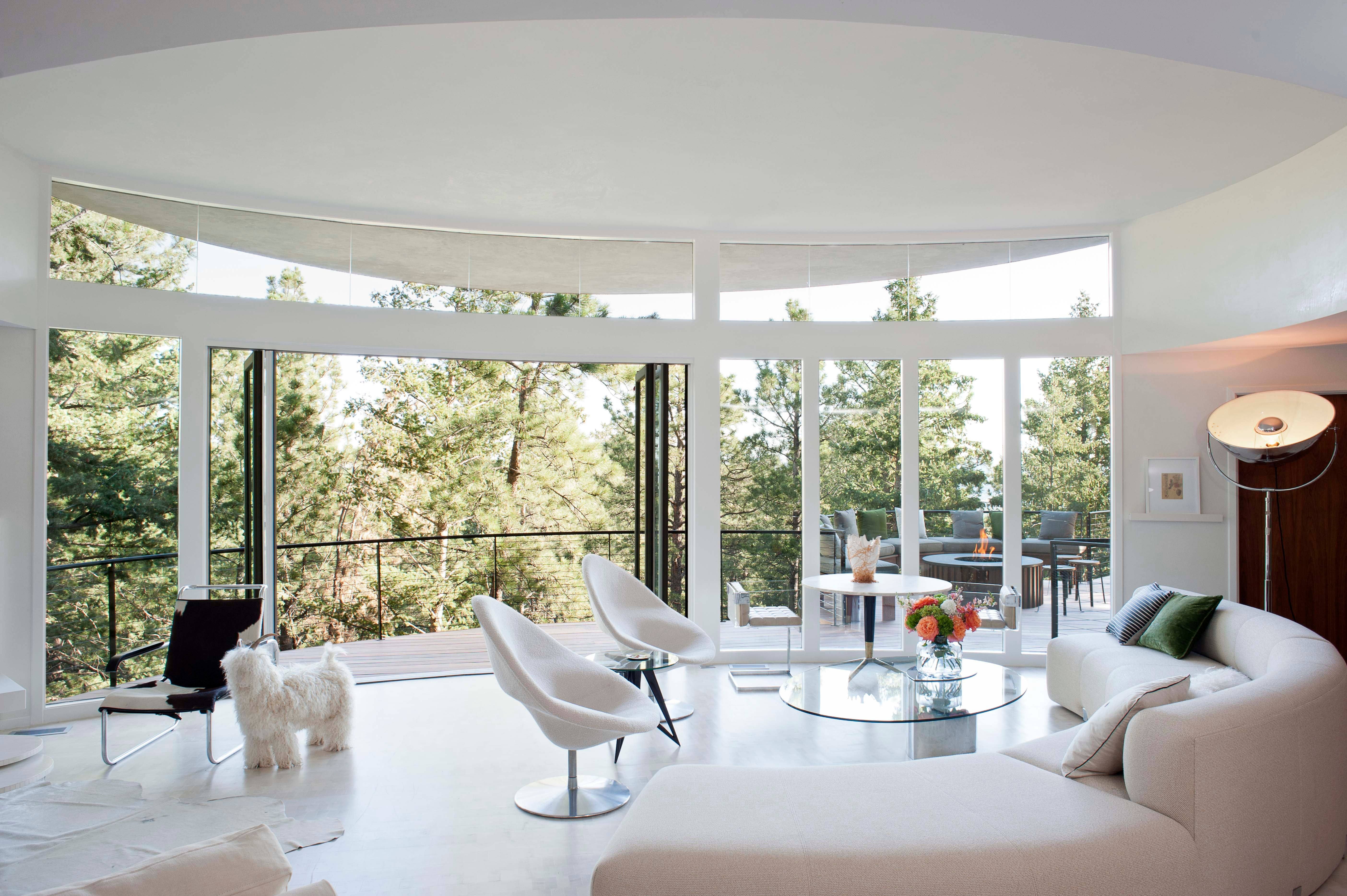 Round house by emily summers design on 1stdibs - Interior design colorado springs ...