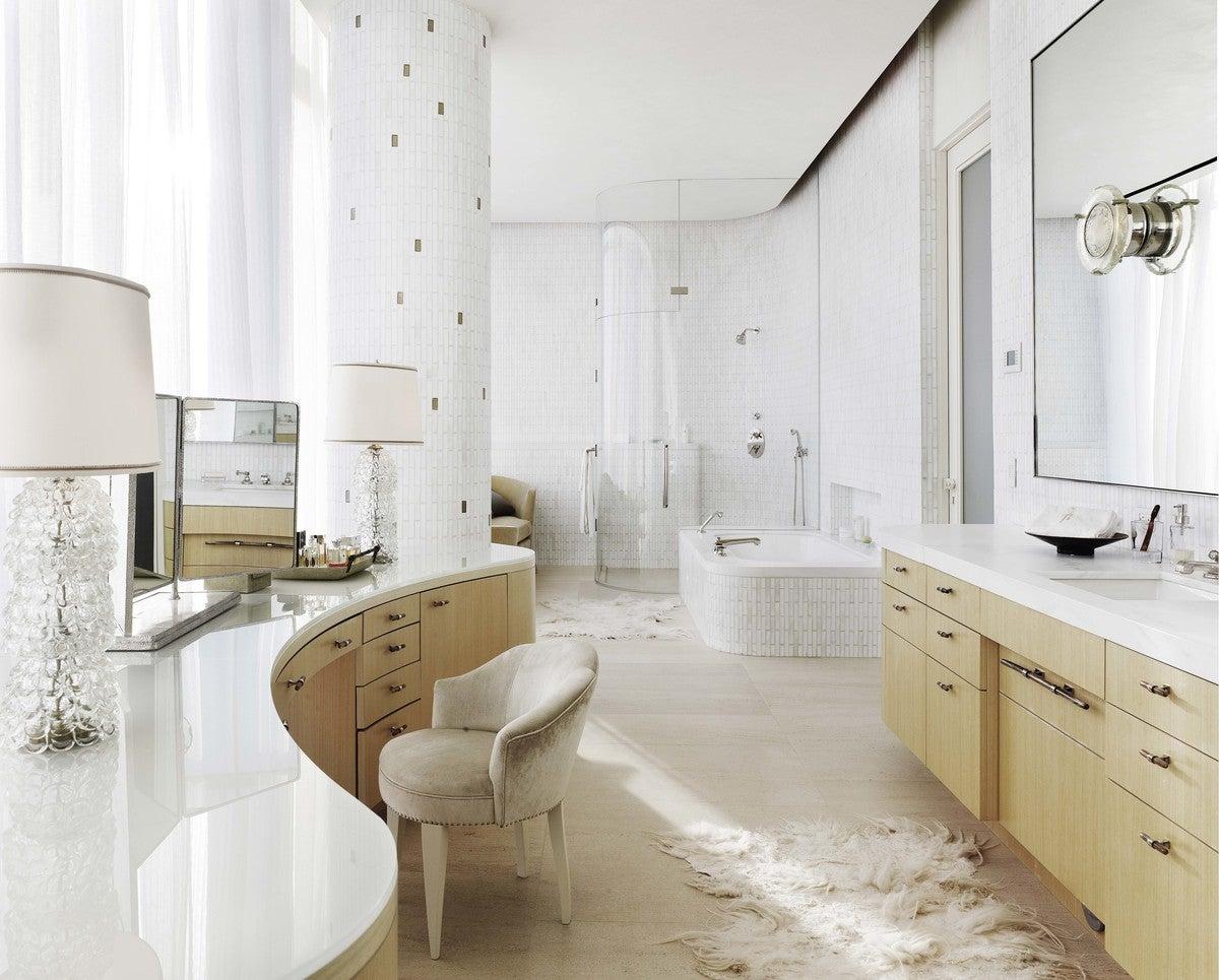 Transitional Bathroom In Dallas Tx By Emily Summers Studio