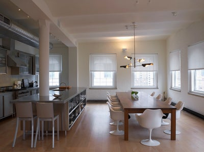 MR Architecture + Decor - Tribeca Penthouse