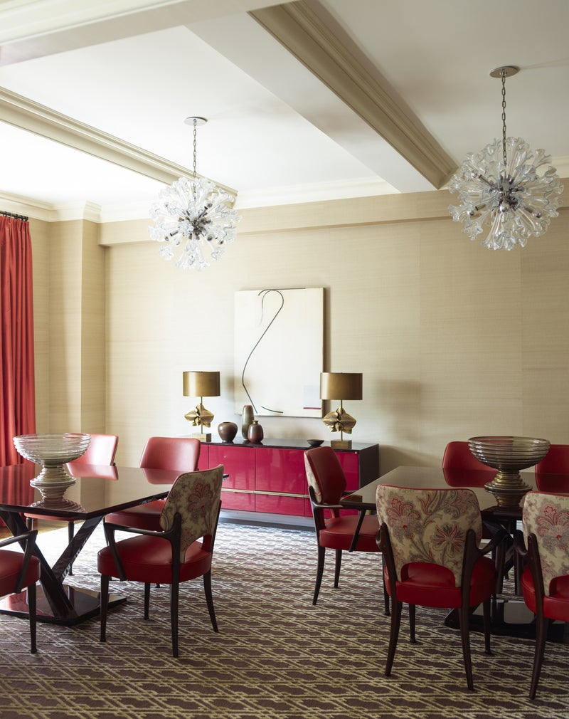 Eclectic Dining Room In New York NY By Mendelson Group