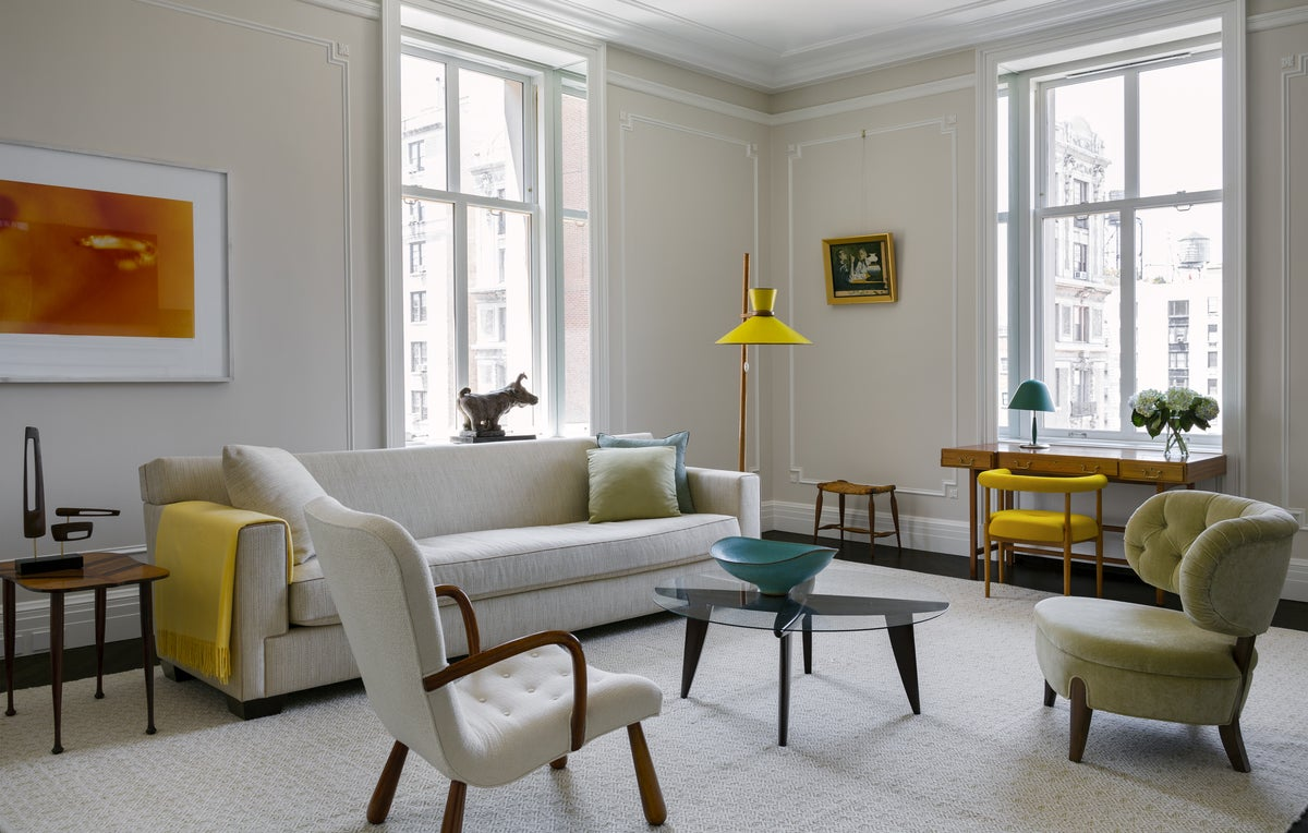 Northern European Inspired Living Room