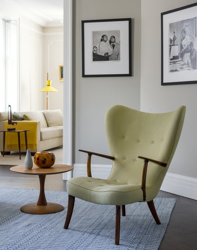 Madsen & Schubel Pragh Wingback Chair