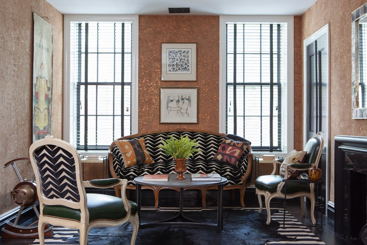 Den Maximalist Living Room In Brooklyn Ny By Nick Olsen Inc